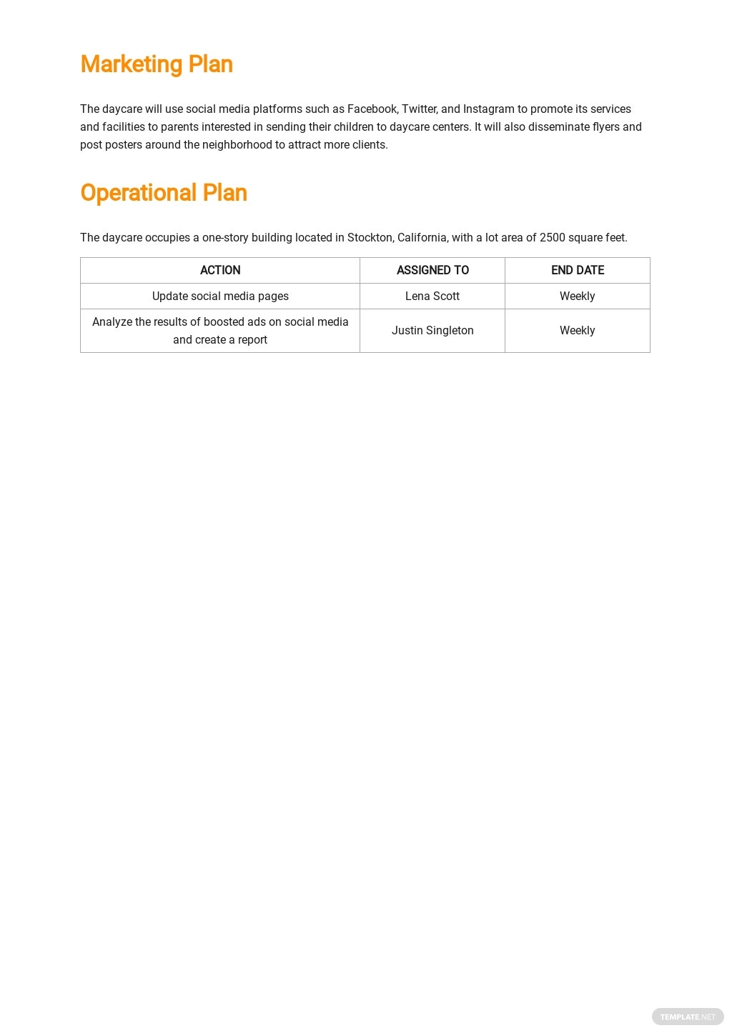 Daycare Business Plan Template 3.jpe