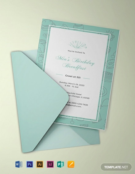free birthday breakfast invitation template 440x570 1