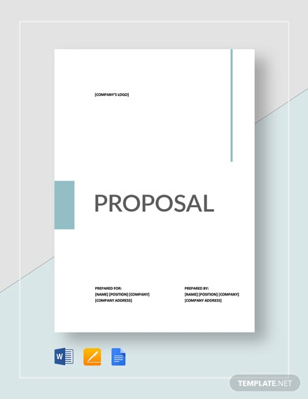 Sample Proposal Template