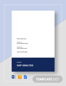 Gap Analysis Template