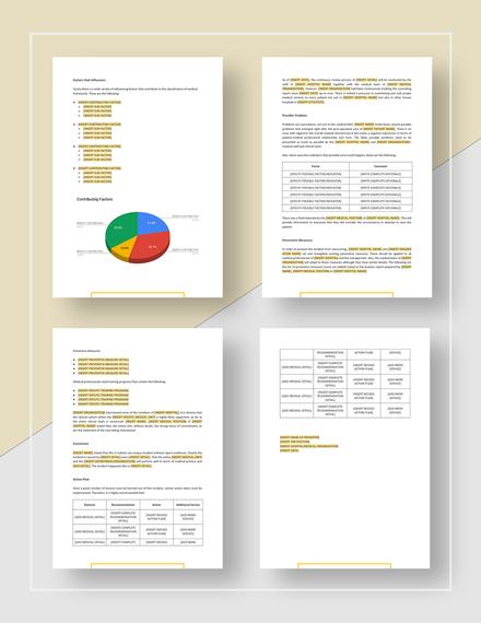 Root Cause Analysis simple
