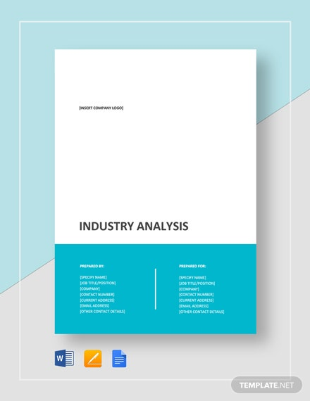 Industry Analysis Template