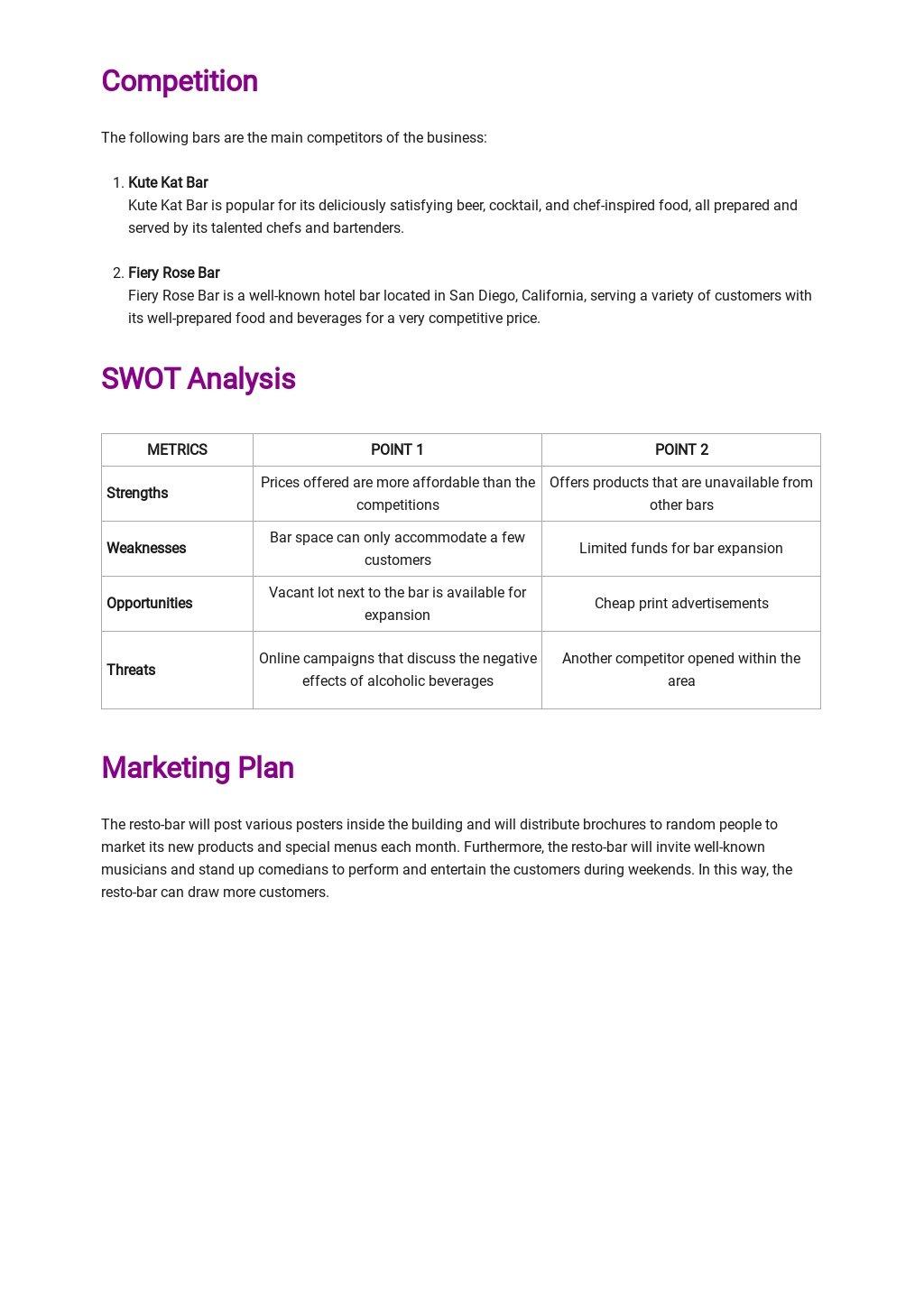 Bar Business Plan Template 2.jpe