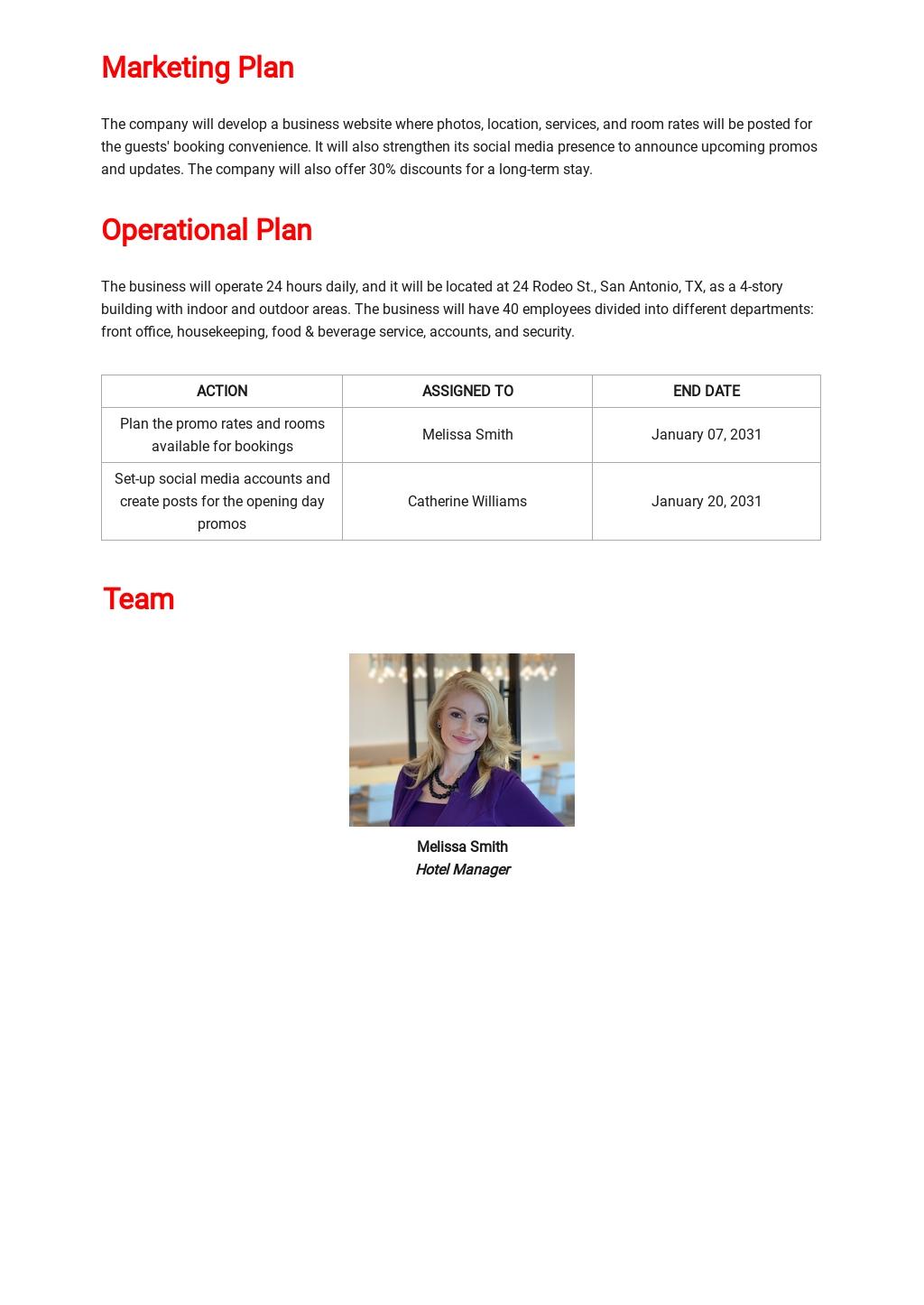 Hotel Business Plan Template 3.jpe