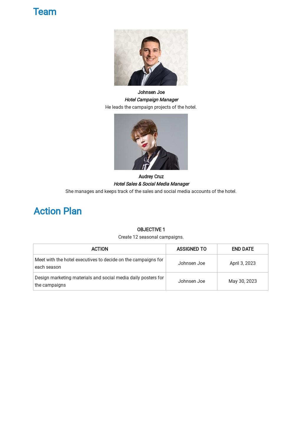 Hotel Marketing Plan Template 2.jpe