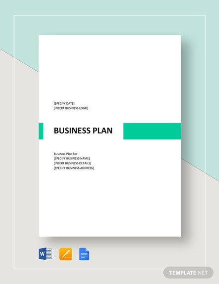 Sample Business Plan Template