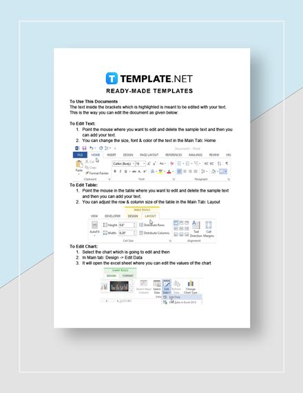 Sample Task Analysis Instructions