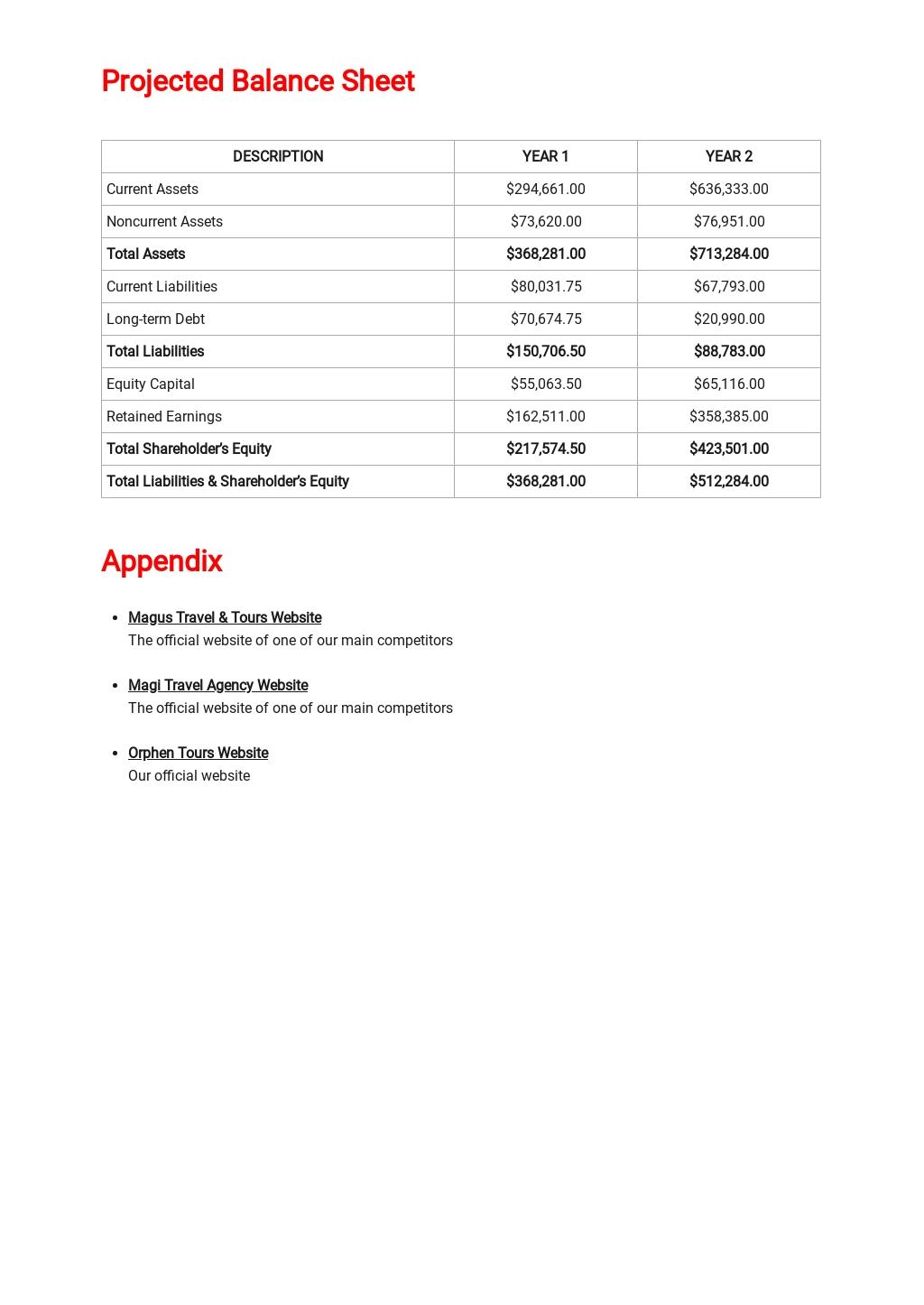 Travel Business Plan Template 6.jpe
