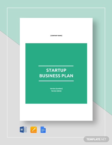 Startup Business Plan Template