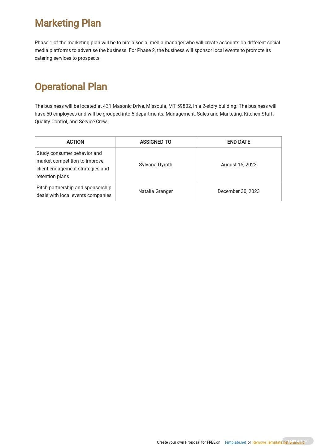 Catering Business Plan Template 4.jpe