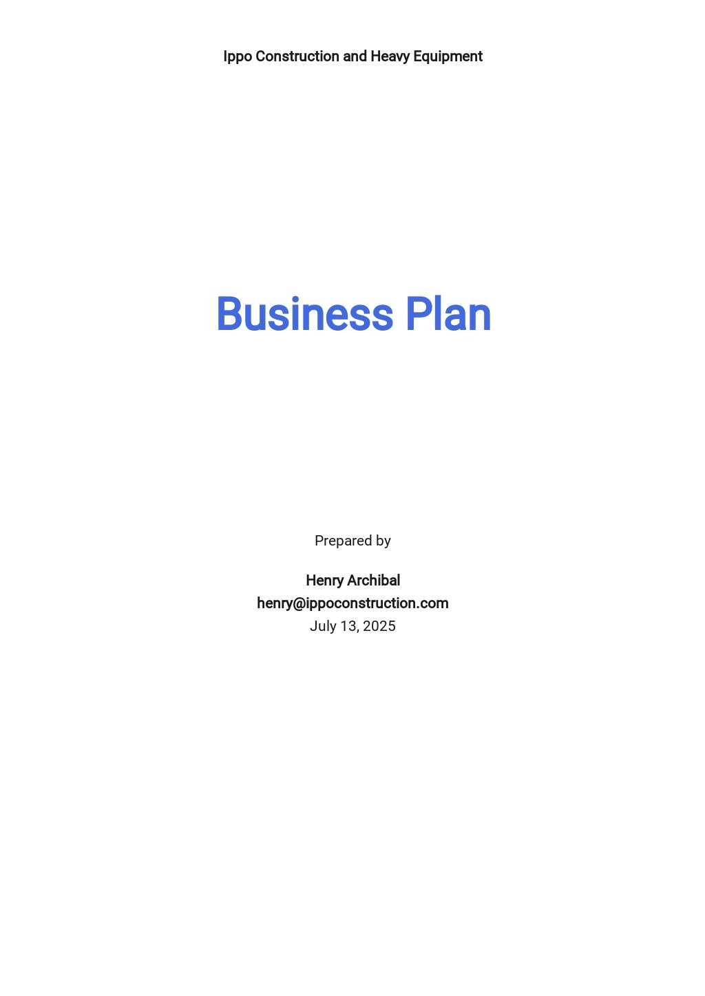 Construction Business Plan Template.jpe