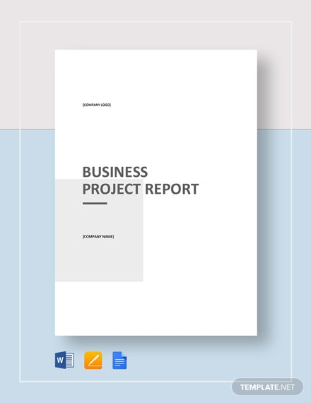 Business Project Report Template