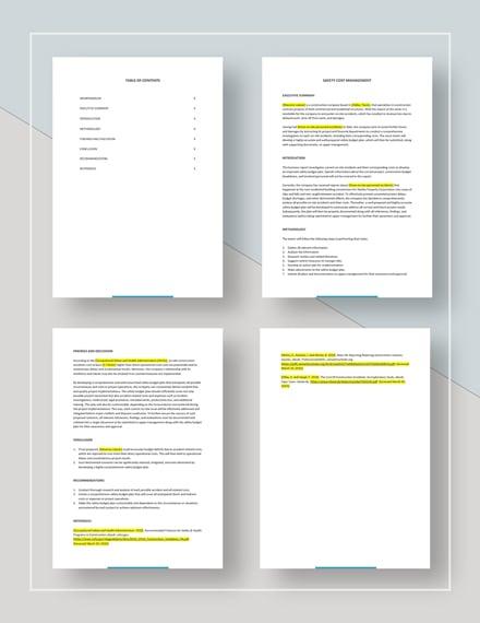Sample Business Management Report