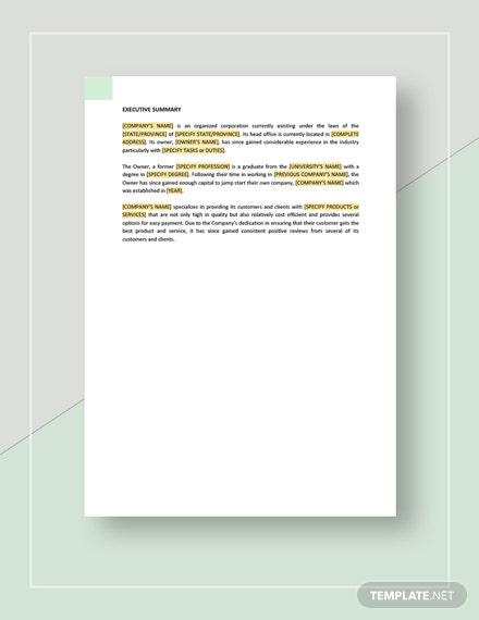 Business Annual Report Download