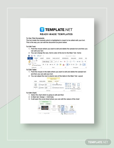 Business Annual Report Instructions