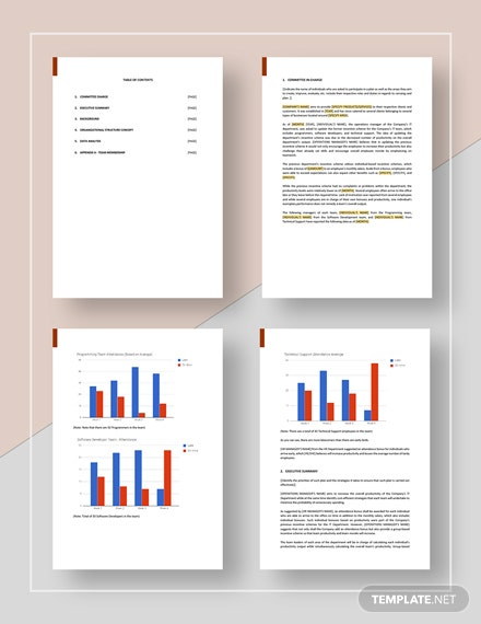 IT Management Report Download