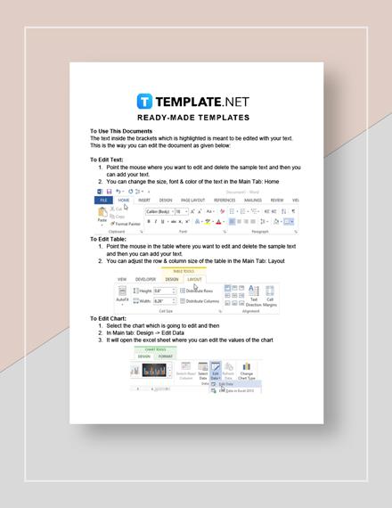 IT Management Report Instructions