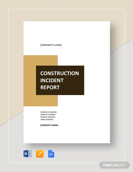 construction incident report 3