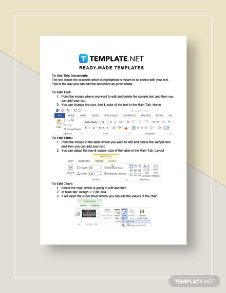 Marketing Report Instructions