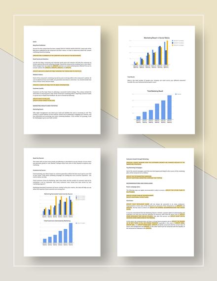 Sample Marketing Report