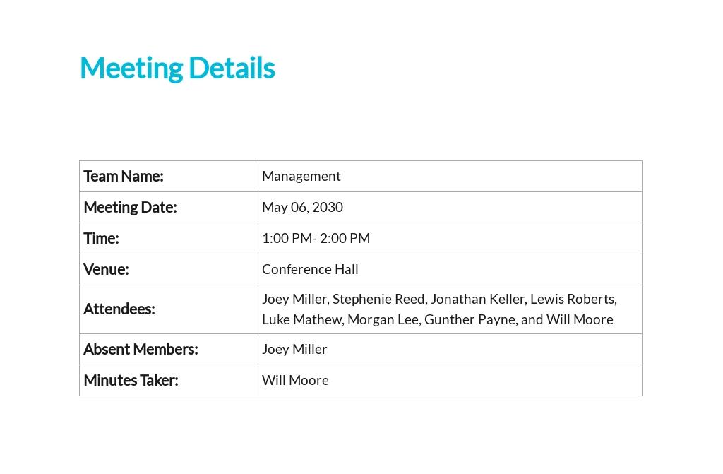 Sample Business Meeting Minutes Template 1.jpe