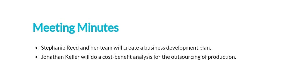Sample Business Meeting Minutes Template 3.jpe