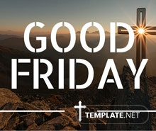 Good Friday Email Newsletter Template