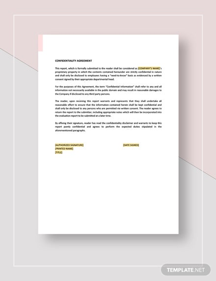 Formal Report Download
