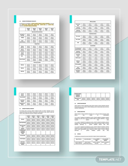 Service Report Download