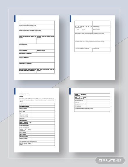 General Incident Report Download