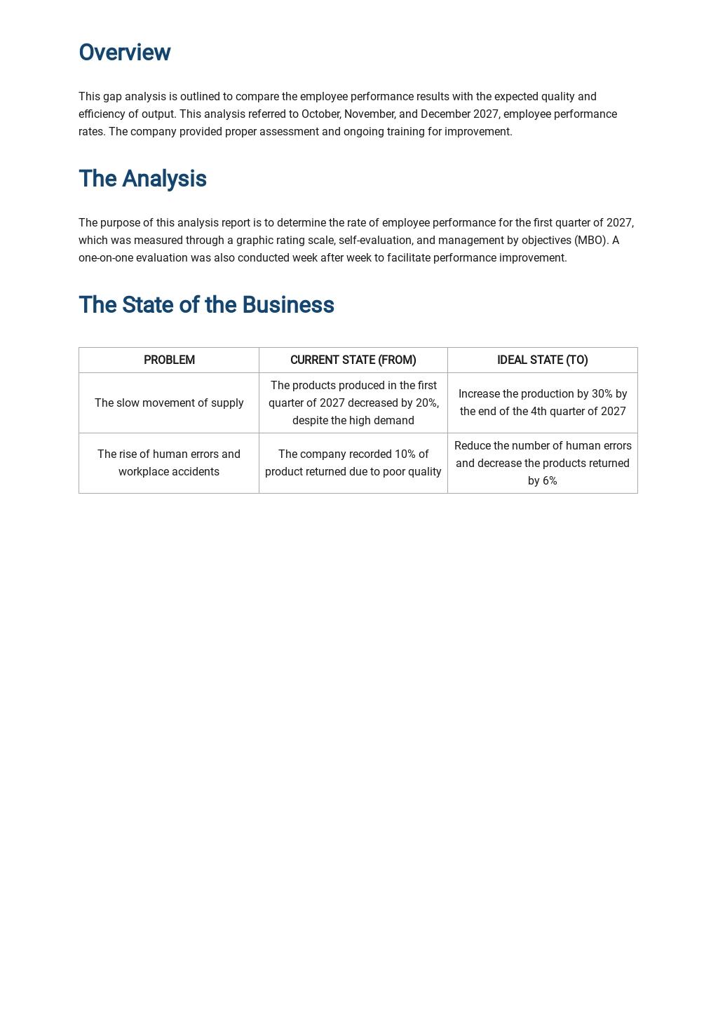 Sample Gap Analysis Report Template 1.jpe