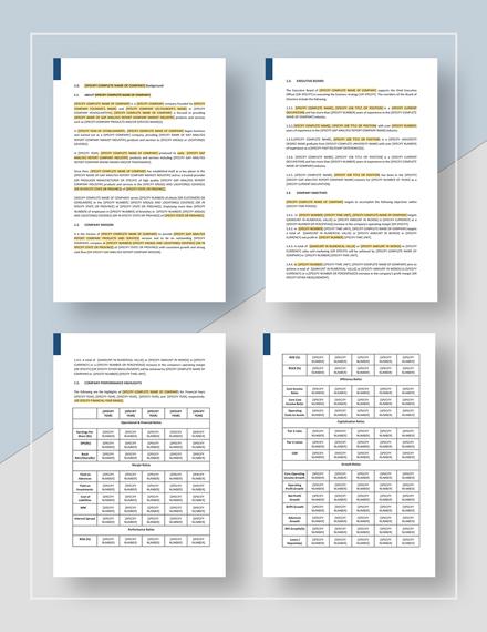 Sample Gap Analysis Report Sample