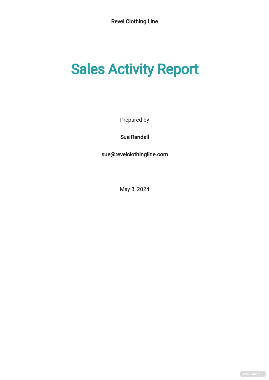 Sales Activity Report Template.jpe