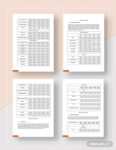 Simple Sales Activity Report