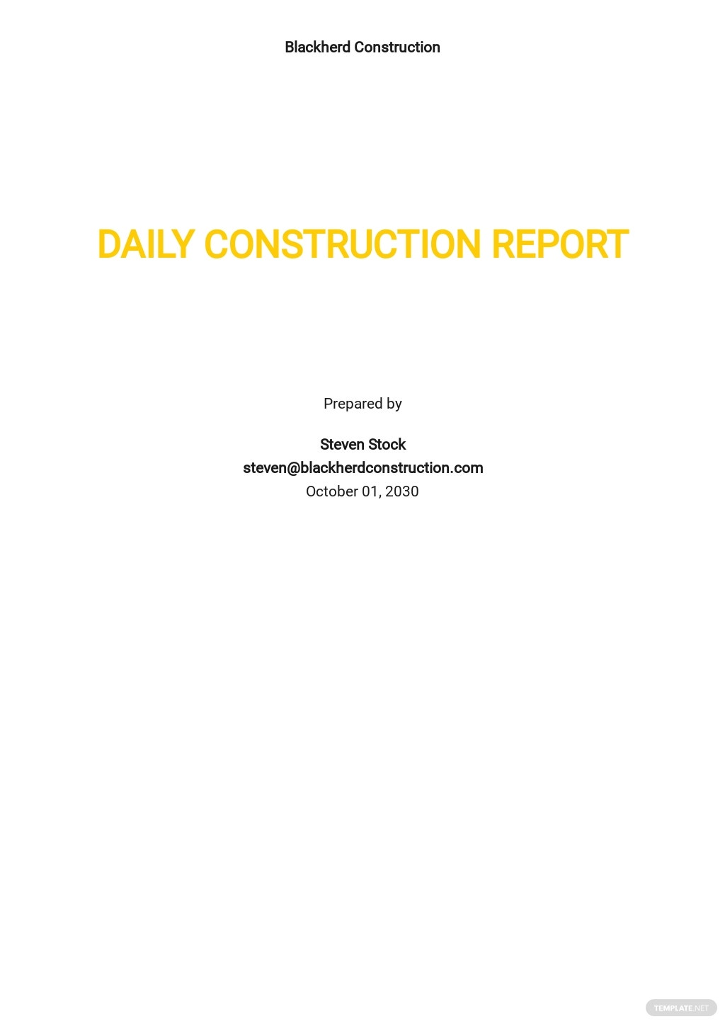 Daily Construction Report Template.jpe