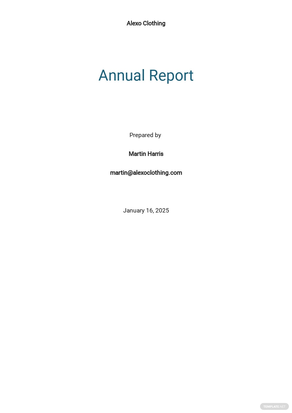Simple Annual Report Template.jpe