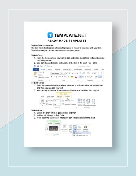 Short Business Report  Sample  Instructions