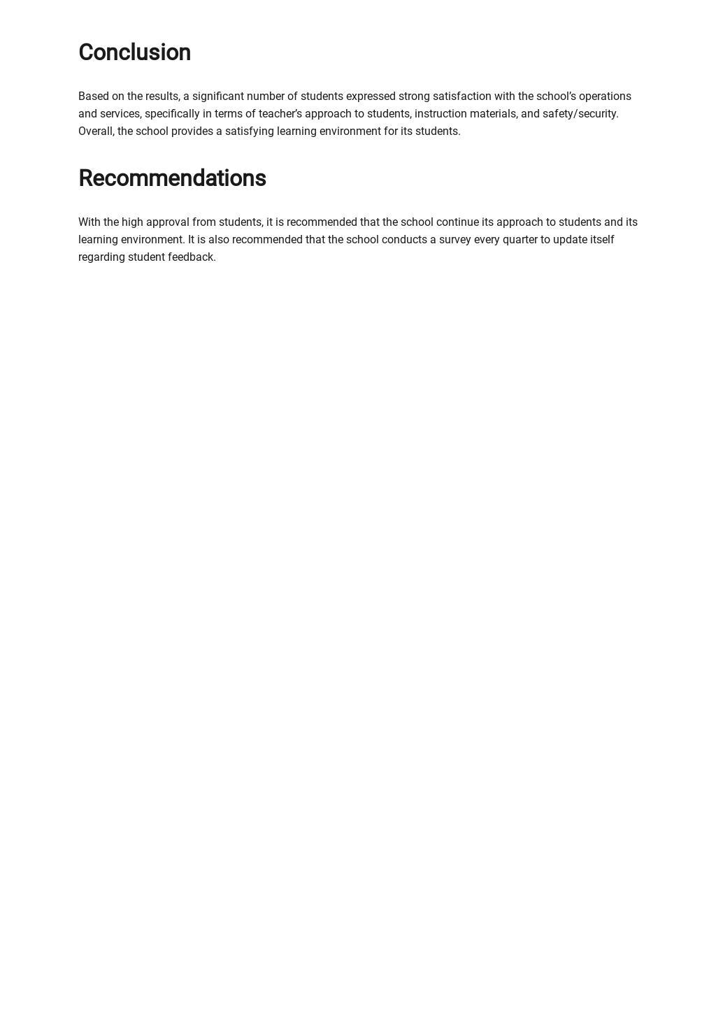 Sample Survey Report Template 3.jpe