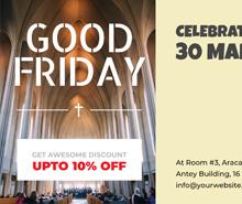 Free Good Friday Voucher Template