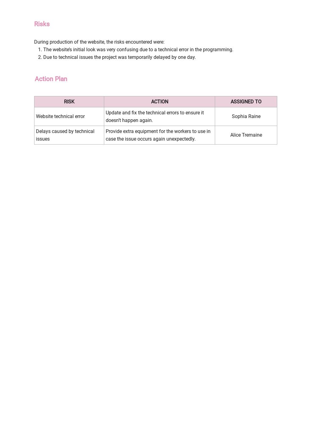 Project Status Report Template 2.jpe