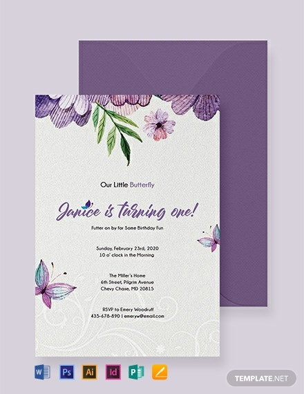 44 Free Birthday Invitation Templates Word Psd