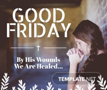 Good Friday Facebook Post Template