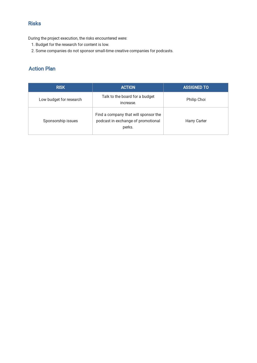 Weekly Status Report Template 2.jpe