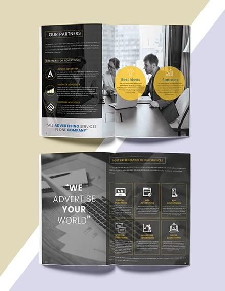Advertising Catalog Design
