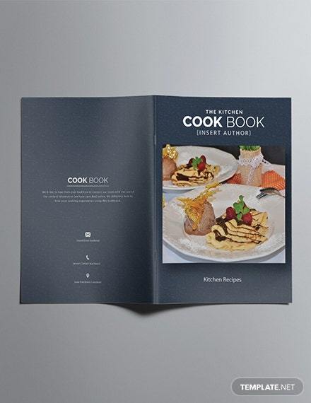 Free Printable Cookbook Catalog Template