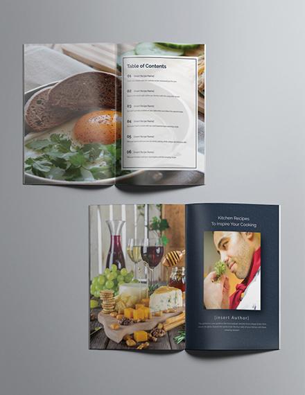 Printable Cookbook Catalog