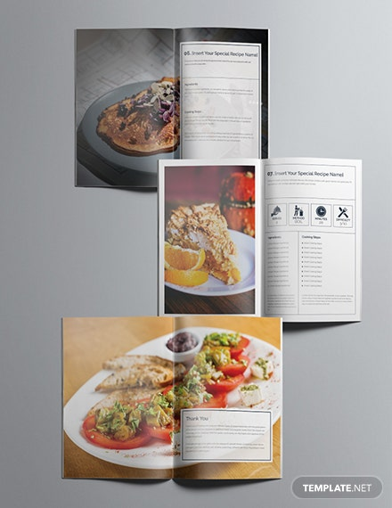 Printable Cookbook Catalog Sample