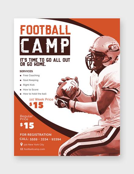 football camp 440