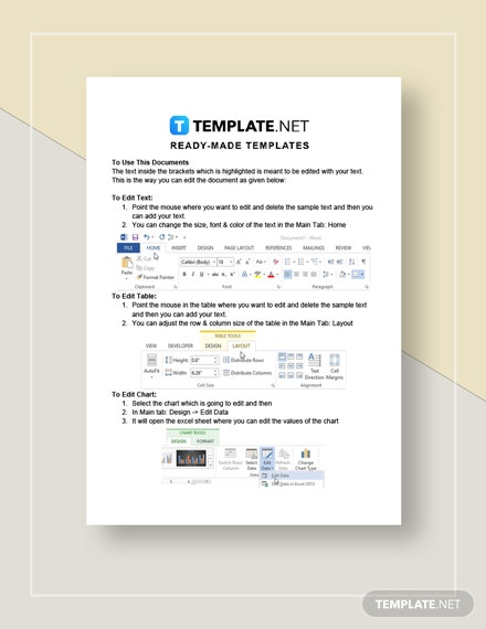 Blank Fact Sheet Instructions