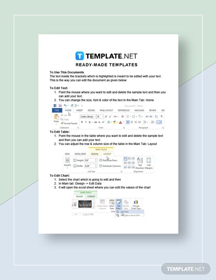 Medical Fact Sheet instructions